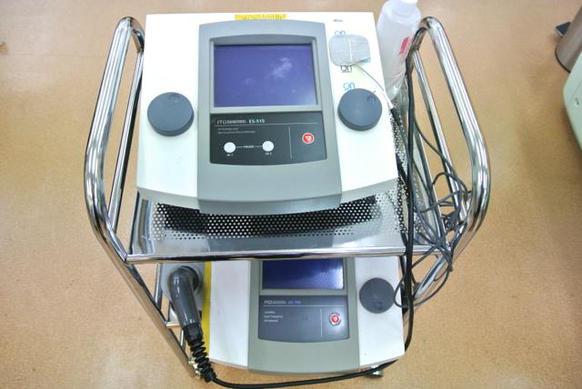 超音波で身体の深部から温め血行を改善、振動により細胞を活性化し損傷の修復