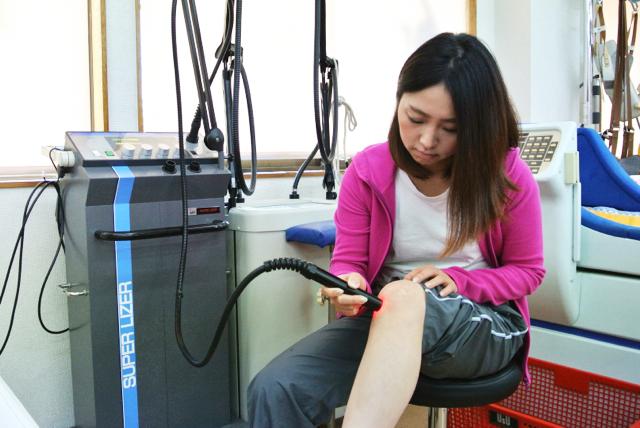 近赤外線で神経の興奮を鎮め血行を促す